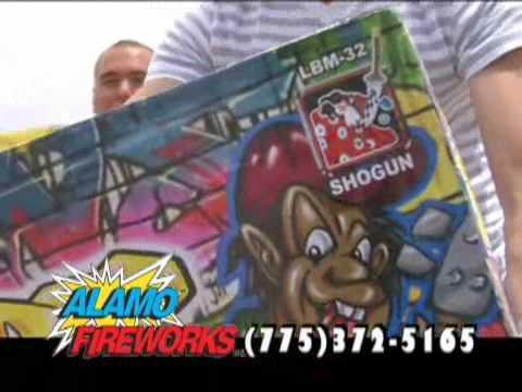 Alamo Fireworks Nevada Megastore Commercial