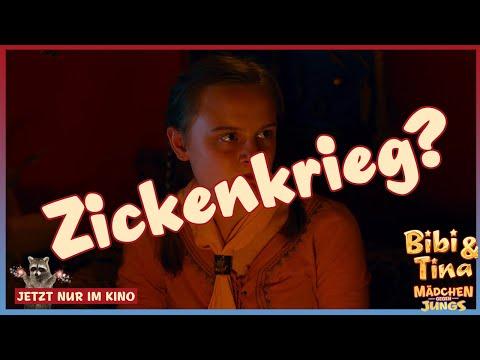 BIBI & TINA 3 - Mädchen Gegen Jungs - Zickenkrieg (Filmclip)