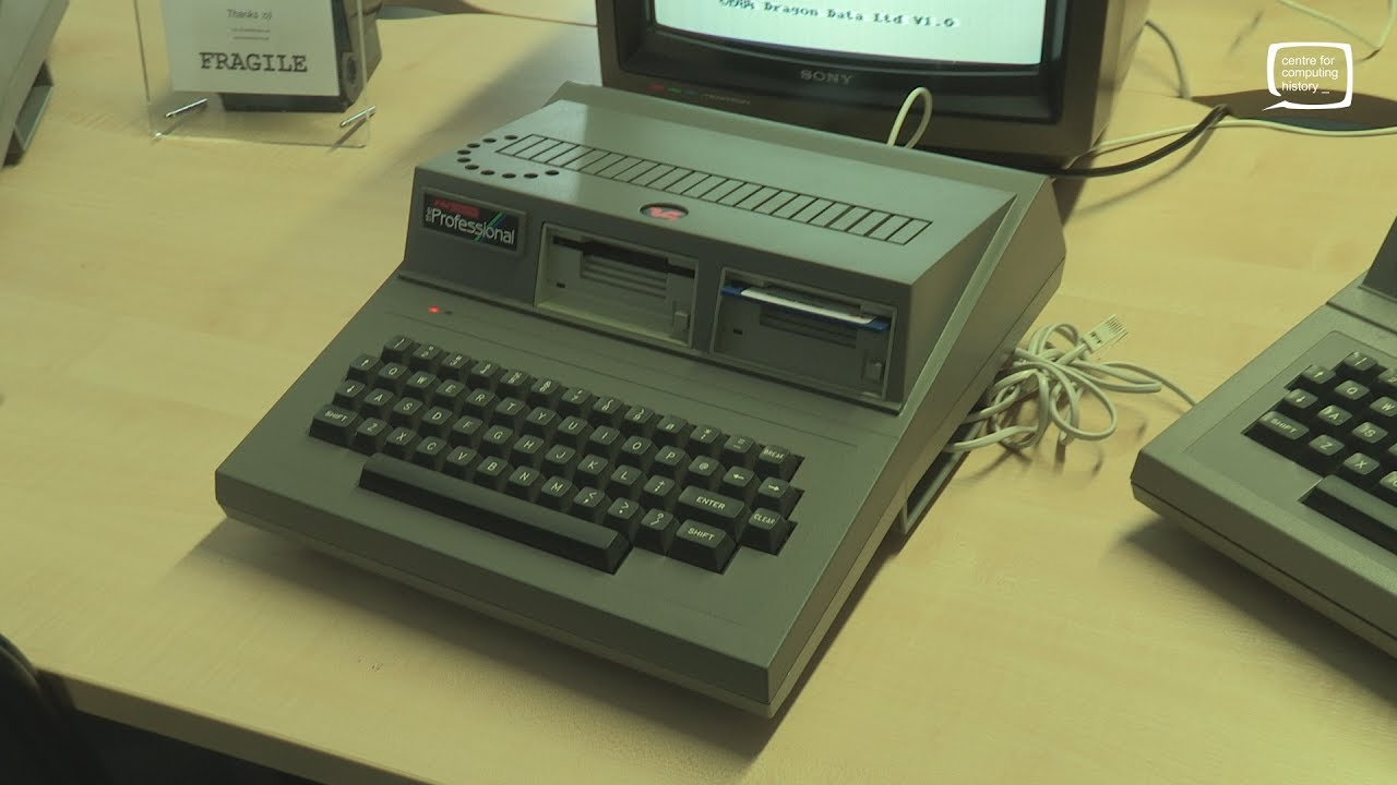 The Dragon Professional - Extremely Rare and Never Released Vintage Computer