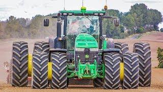 XXL Traktoren im Einsatz | Fendt, John Deere, CaseIH uvm. | Best of Bodenbearbeitung 2017
