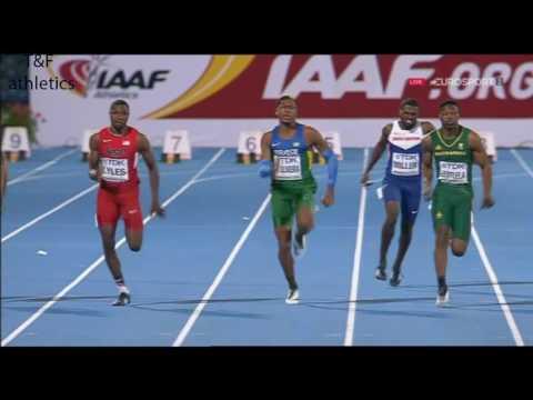 Noah LYLES 10.17 100m Men's Final - World Junior Championships Bydgoszcz 2016