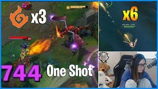 How BROKEN is AP Shyvana with 3 Infernal Dragon? Machine Gun Caitlyn Trick| LoL Daily Moments Ep 584