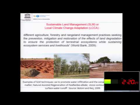Meta-evaluation of Sustainable Land Management Initiatives in Senegal