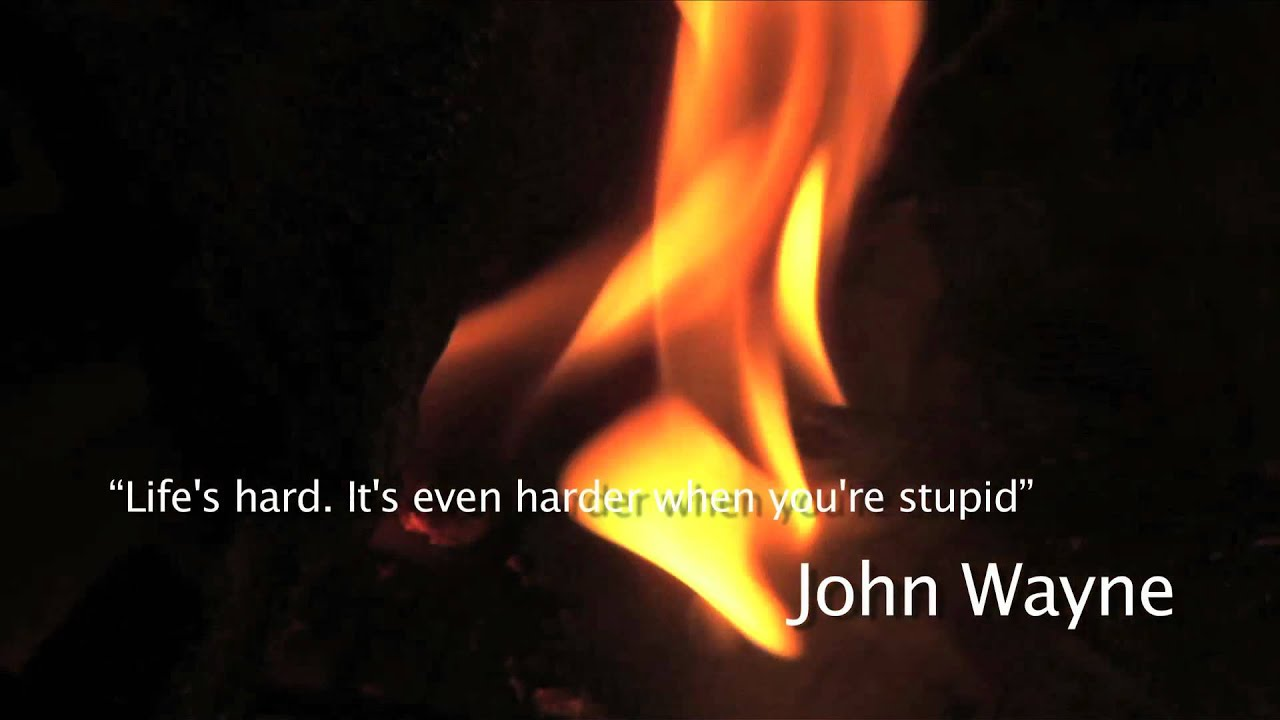 Lifeu0027s Hard John Wayne Quote