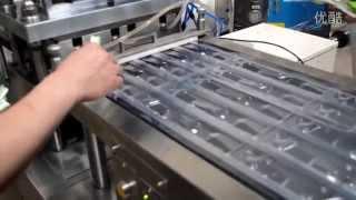 High frequency toothbrush blister packaging machine flat plate Aluminium-plastic blister packer