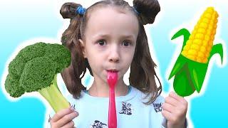 Yes Yes Vegetables Song | 동요와 아이 노래  어린이 교육 | Ulya Liveshow