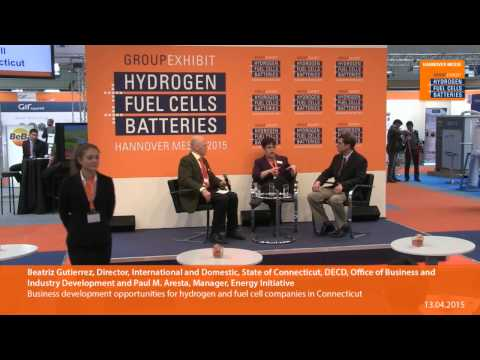Business development opportunities for hydrogen and fuel cell companies in Connecticut