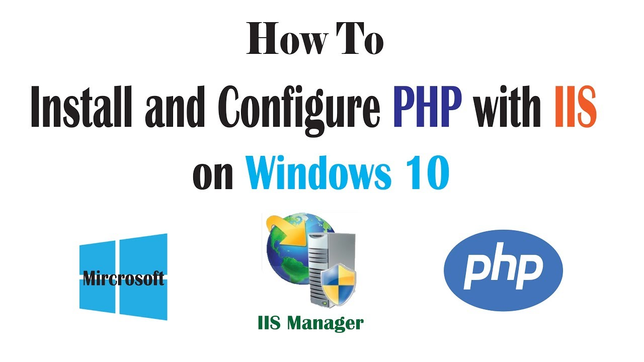 How to Install PHP with IIS on Windows 27 ( Windows 27 - Server 27 - 27  -27 )