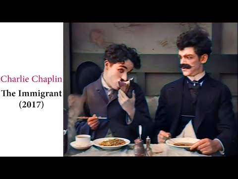 Charlie Chaplin  | The Immigrant (1917)  | In Colors