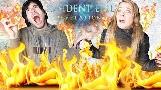 NOS QUEMAN VIVOS! | Resident Evil R2 (2) - German y lele