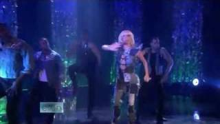 Lady GaGa Performing Poker Face Live on Ellen DeGeneres Show.