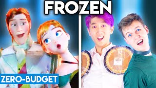 FROZEN WITH ZERO BUDGET! (Love Is An Open Door PARODY)