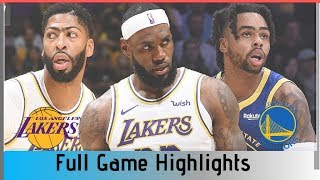 Warriors vs Lakers Full Game Highlights || 2019 NBA Preseason || Flop City Highlights
