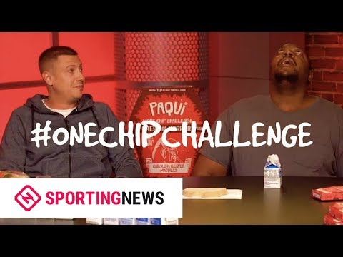 Sporting News Does The 'One Chip Challenge'