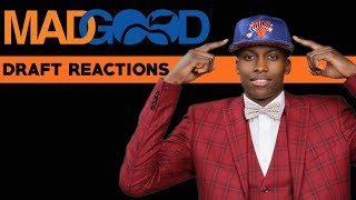 THE PICK IS IN...WELCOME FRANK NTILIKINA TO THE KNICKS. REACTIONS + EVERYTHING YOU NEED TO KNOW!!!
