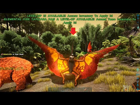 ARK: Survival Evolved (The Island) #4 - Chim Lửa Khổng Lổ Fire Tapejara