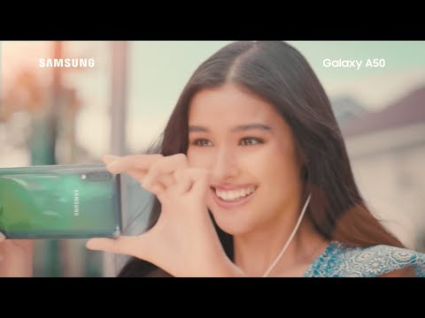 Samsung Galaxy A50: Live In The Moment