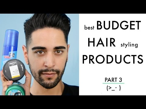 Best Budget Hair Styling Products For Men Tried And Tested! PART 3 (Men's Hair) 2016 ✖ James Welsh