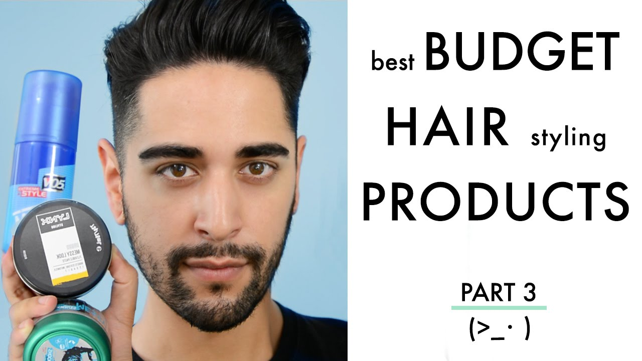 best mens hair styling product best budget hair styling products for tried and tested 4149