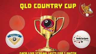 2016 Qld Cup - Country 8 Ball Teams - Gladstone v Norths