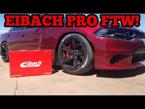 Hellcat Eibach Pro-kit Installation! Time To Get Low-e