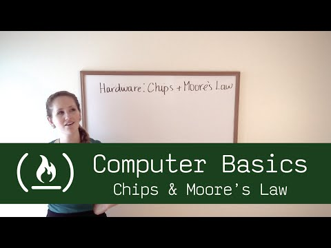 Computer Basics: Chips and how Moore's Law works