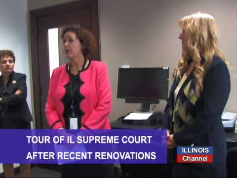 Behind the Scenes Tour of the Renovated IL Supreme Court Building