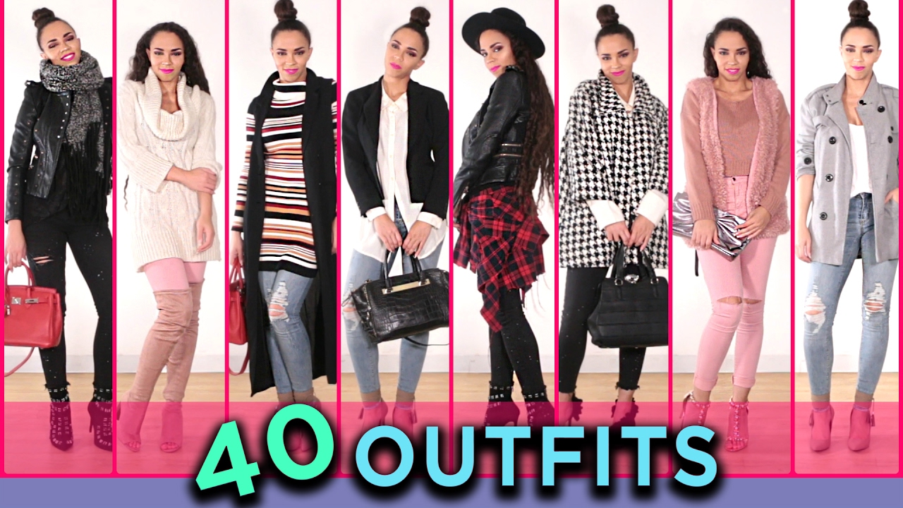 4f65b24dc2 40 Outfits with Jeans! 40 Ways to Wear Jeans Outfit Ideas - YouTube