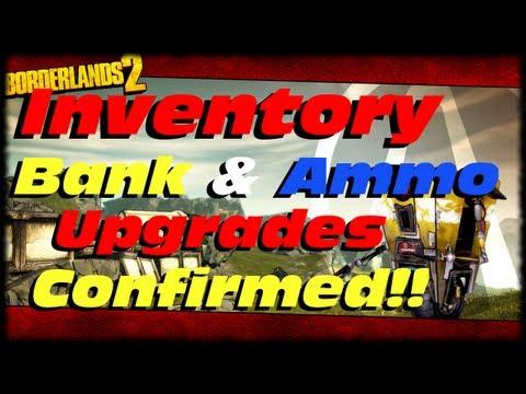 Borderlands 2 Inventory, Bank & Ammo SDU Upgrades Confirmed For Ultimate Vault Hunter Mode PT3 DLC!!