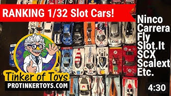 Ranking 1/32 Slot Cars - Vlog