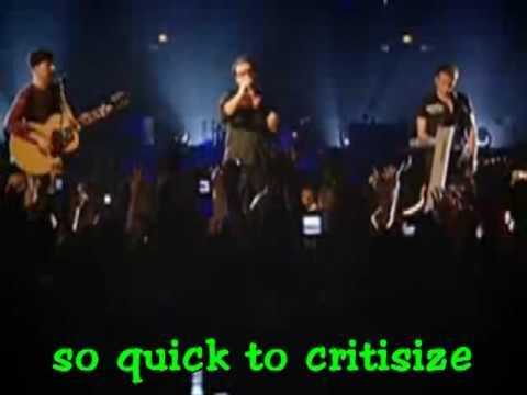 U2 - Yahweh live karaoke