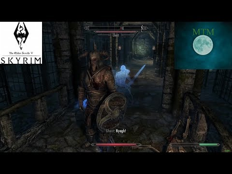 Skyrim Special Edition : Papa Smurf And The Mildly Annoying Ghosts