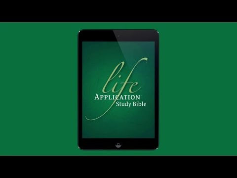 1. How To Download The NLT Text & Study Bible Materials