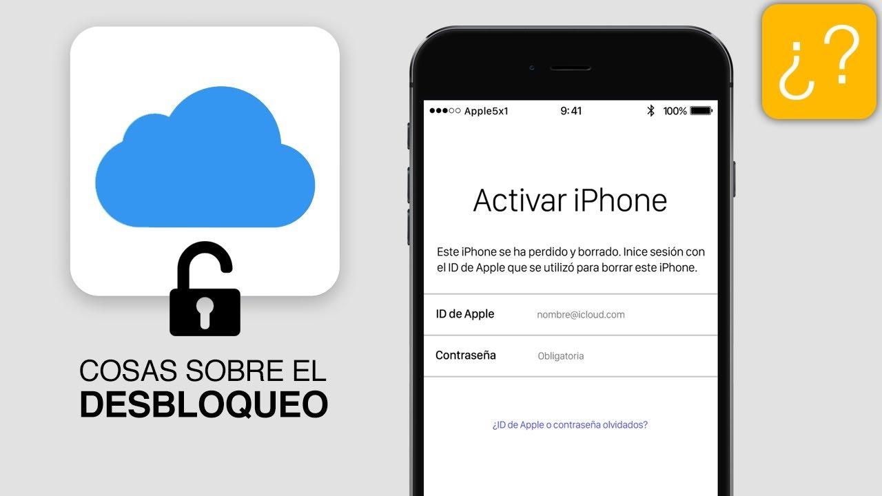 como desbloquear iphone 6 icloud itunes