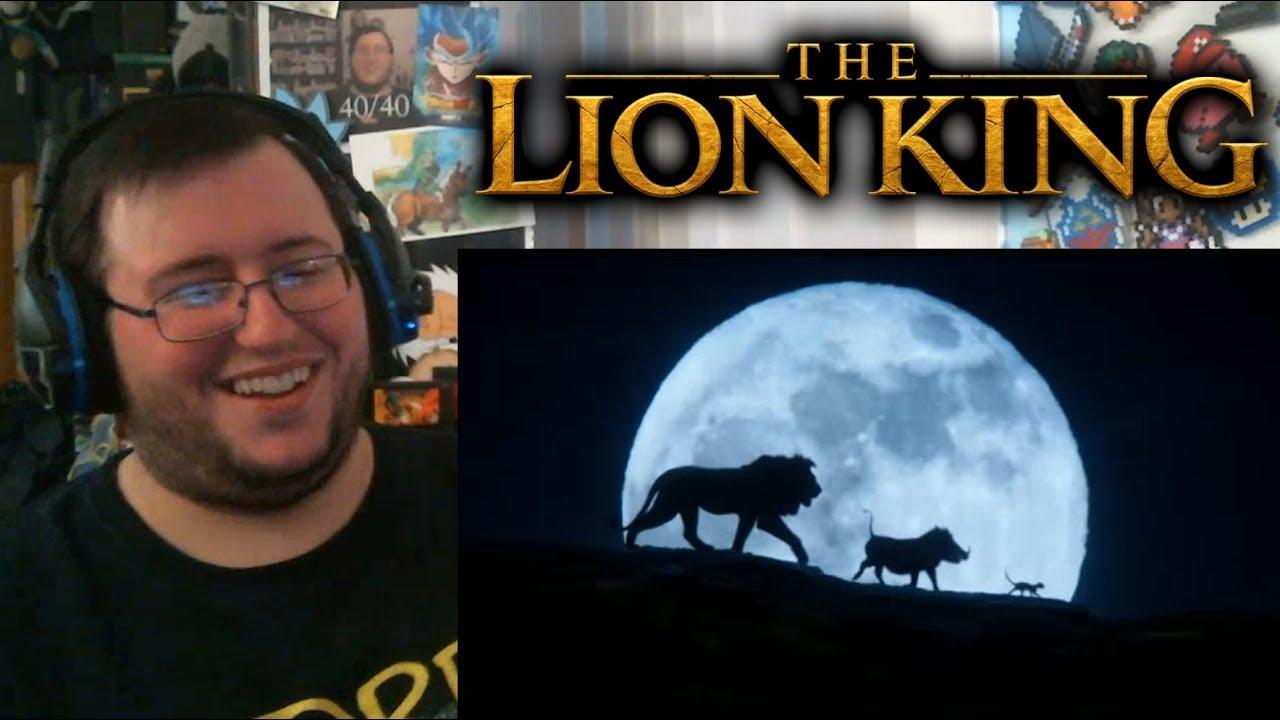 gors  u0026quot the lion king u0026quot  official trailer reaction