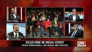 CNN Türk canlı yayını terörle arasına mesafe koymayanlara dair telefon bağlantımız