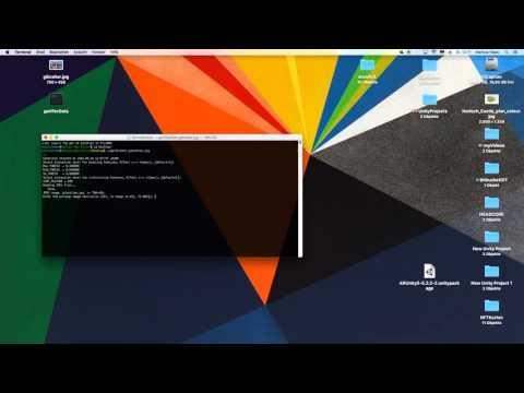Tutorial - ARToolKit - Create NFT Marker On MacOSX