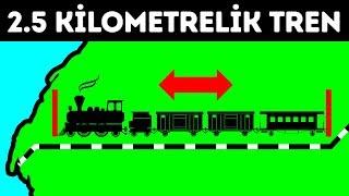Dünyanın en uzun treni insan taşımıyor ama isterseniz binebilirsiniz
