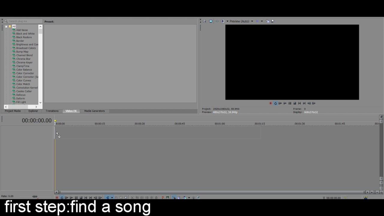 how to slow down songs in svp
