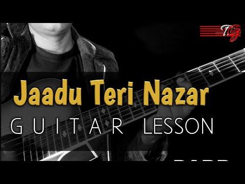 JAADU TERI NAZAR GUITAR LESSON