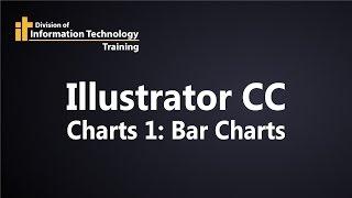 Illustrator CC Tableaux 1 - Comment créer et de modifier un graphique à barres