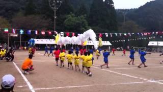 龍門小学校運動会 エイサー 平成24年9月22日