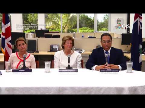 Baroness Anelay Press Conference RCIPS Joint Marine Unit October 4 2016