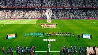 PES 2020 | INDIA vs ARGENTINA FINAL | FIFA World Cup 2022 Qatar | Full Match | All Goals HD