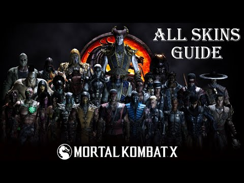 Mortal Kombat Xl How To Unlock All Skins Youtube