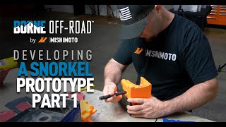 homepage tile video photo for Mishimoto: Mishi Minute Borne Off-Road Snorkel Prototype Part 1