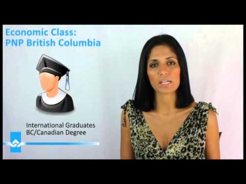 PNP British Columbia Skilled Immigration