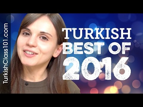 Learn Turkish in 25 Minutes - The Best of 2016