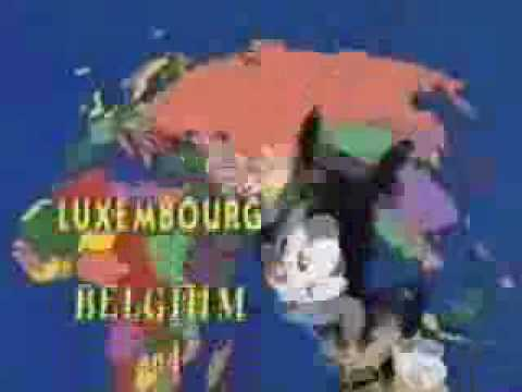Animaniacs - Nations Of The World