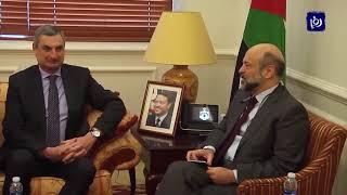 رئيس الوزراء يجدد التأكيد على موقف الأردن من القضية الفلسطينية (2-4-2019)